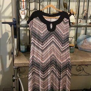 Susan Lawrence maxi dress size 1X
